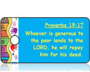 Proverbs 19:17 Bible Scripture Tags