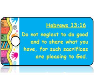 Hebrews 13:16 Bible Scripture Tags