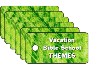 Vacation Bible School Themes Tag Packs