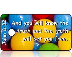 John 8:32 Bible Scripture Tags