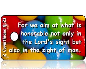 2 Corinthians 8:21 Bible Scripture Tags