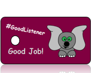 Good Listener Hashtag Key Tags