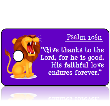 Psalm 106:1 Bible Scripture Tags