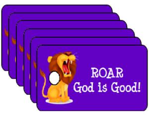 Vacation Bible School Roar