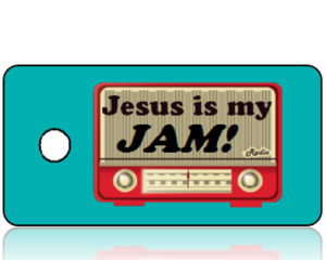 Jesus is My Jam Inspirational Key Tags