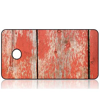 BuildITB80 - BuildIT - Reclaimed Wood Red Hues Design Key Tag
