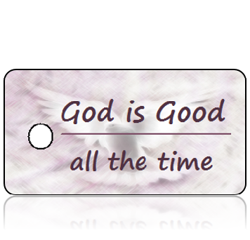 Inspiration24 - God is Good All the Time - Dove Background