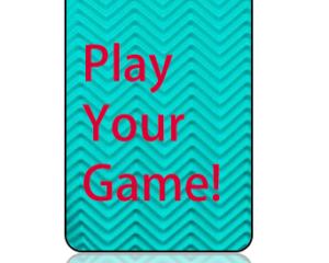 Play Your Game Bag Tag - Main Image