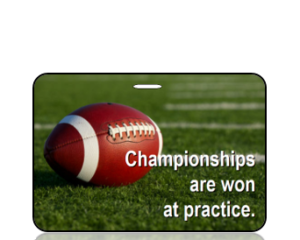Football - Champtionships Won at Practice - Main Image