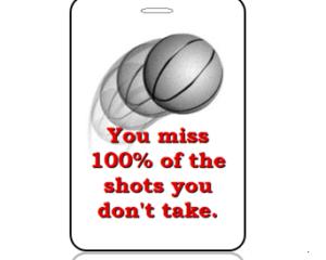 Basketball Shots You Miss 100% - Main Image