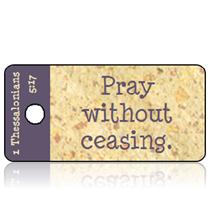 September - Praying