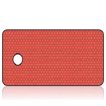 ScriptureTagBlankC45 - Red Linen