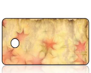Create Design Holiday Key Tag Antique Advent Stars