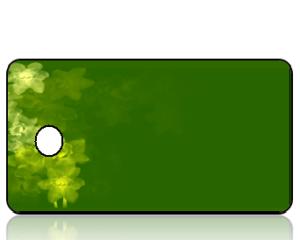 ScriptureTagBlankE26 - Daffodils Green Background