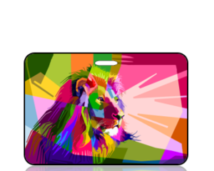 Create Design Modern Lion Pastel Colors