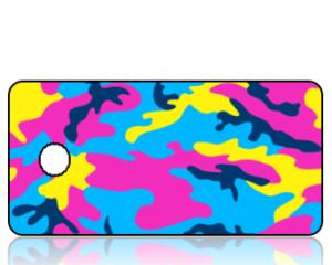 Create Design Fluorescent Camouflage Key Tag