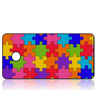 BuildITA145 - Colorful Puzzle Pieces