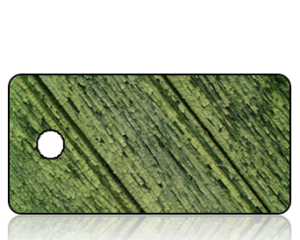 Create Design Distressed Green Wood Paneling Key Tag