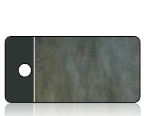 Create Design Gray Brown Stone Key Tag