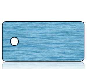 Create Design Blue Water Key Tag