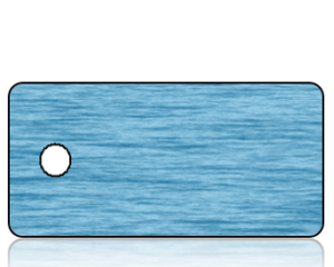 Create Design Blue Water Key Tag