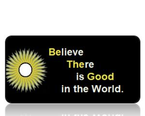 Be the Good - Golden Dandelion Border