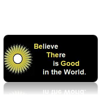 Motivation06 - Be the Good - Golden Dandelion Border