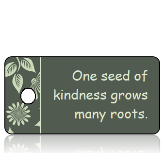 Motivation08 - One seed of kindness... - Fall Leaves Border