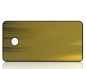Create Design Gold Black Foil Background Key Tag