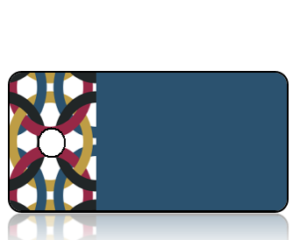 Create Design Linked Chain Border Key Tag