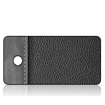 BuildITA169 - Black Gray Leather Binder