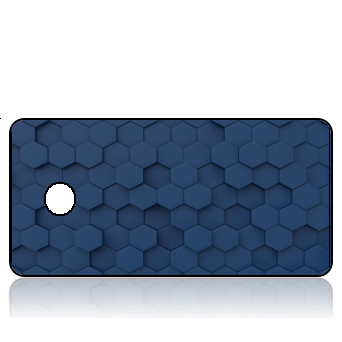 BuildITA171 - Navy Blue GeoGrid