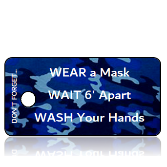 Aware22 - 3 W's - Wear Wait Wash - Blue Camo